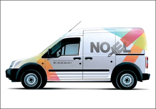 Example of vehicle branding
