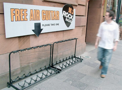 Example of guerilla marketing